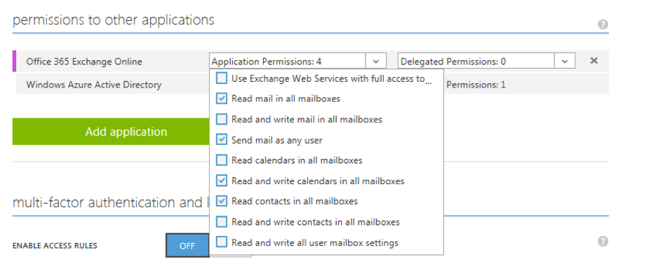 Integrating webMethods IS and the office 365 outlook REST API